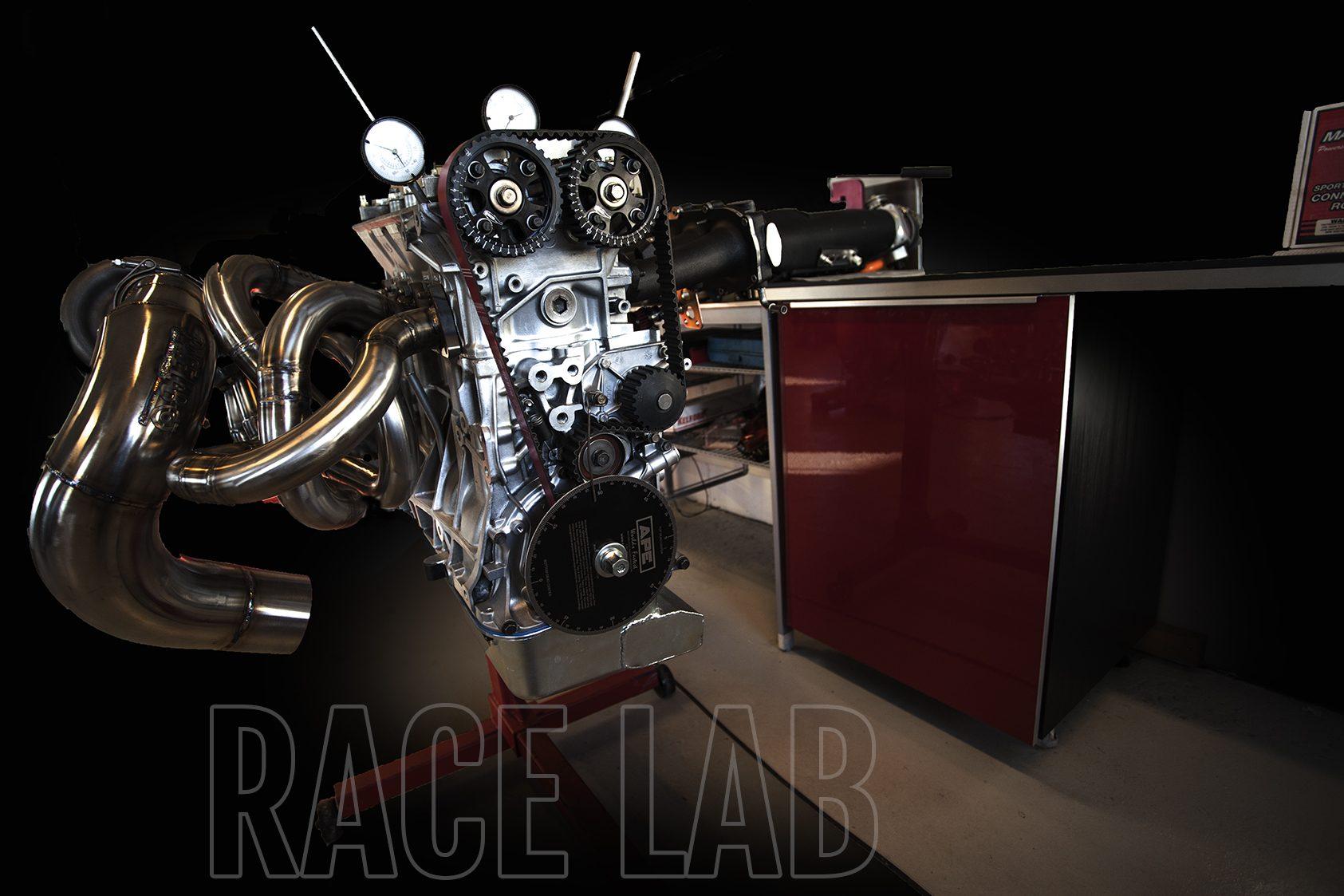 Race Lab – Turbolag og overlading